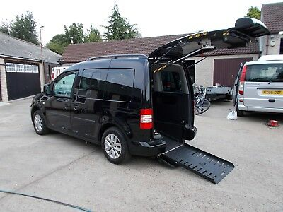 WHEELCHAIR ACCESSIBLE WAV DISABLED  2014 VOLKSWAGON CADDY AUTO DRIVE FROM 15k