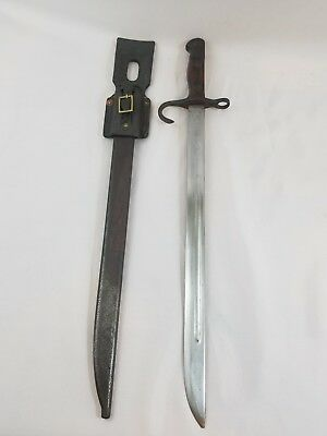 WW2 WWII Japanese Bayonet,Scabbard,Type 30,Arisaka,Arsenal,Frog,Army,Knife,Rifle