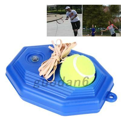 Singles Tennis Trainer Training Practice Balls Back Base Trainer Tool UK