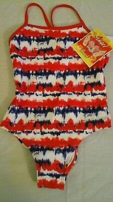 Angel Beach 1 piece  Girl's Bathing Suit/ Swimming Suit size 10 girls