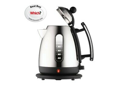 Dualit 72400 1.5 Litre Cordless Jug Kettle Black & Chrome Brand New - Sale