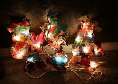 Disney Three Piece Mickey and Friends Christmas Light Display