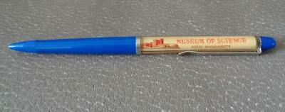 Vintage Floaty Pen Museum Of Science Boston Massachusetts Space Comet