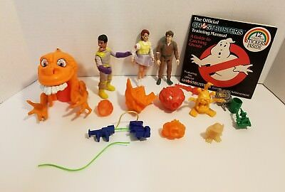 Vintage Ghostbusters Lot of Figures, Ghosts & Monsters Rare Ones