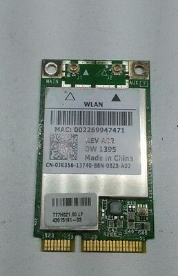 Dell 1525 Genuine Laptop Wireless WiFi Card WX781 Tested