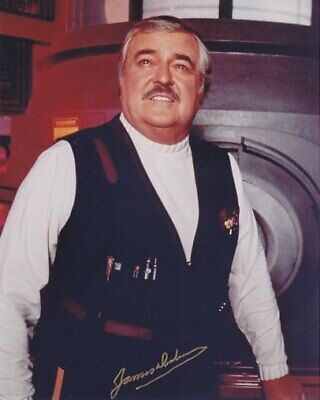 STAR TREK SCOTTY JAMES DOOHAN # 1 final hand signing