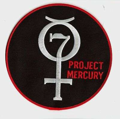 Project Mercury Modern Era 4 Inch Round Patch