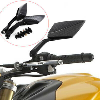Universal Rearview Mirrors Mirror for Motorcycle ATV Quad Scoter Scooter Pair