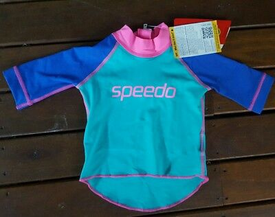 Size 0 speedo top, brand new with tags, baby, swimming