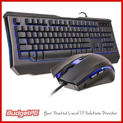 Tt eSPORTS Knucker Elite Multicolour Gaming Keyboard and Mouse Combo