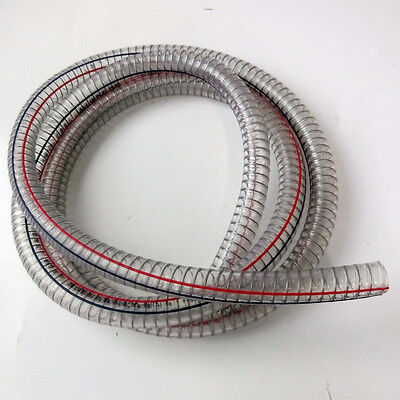 New PVC Tubing Heavy Duty UC Hose Strengthened With Spiral Wire