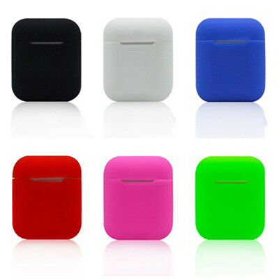 1Pc Silicone Shockproof Wireless Bluetooth Headset Cover Case For Apple Airpods