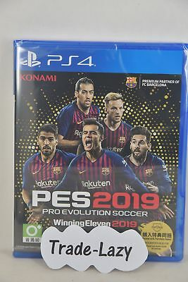 PS4 PES 2019 Pro Evolution Soccer Winning Eleven 19 (廣東話中文 Chinese/ English/JAP)