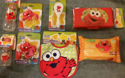 Baby Gift Set,Elmo Sesame Street, 8 pcs set