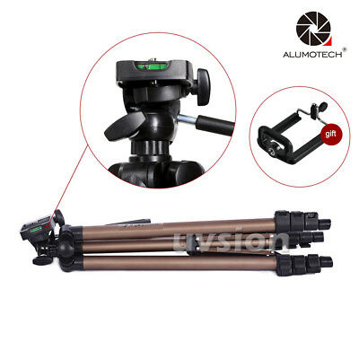 Portable Aluminum Alloy Tripod Support With Pouch For DSLR Camera Photo Video