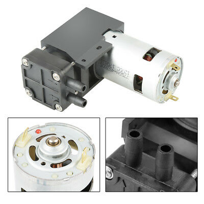 40L/min DC12V 42W Mini Vacuum Pump High Efficiency Oilless Vacuum Pump -85KPa HG