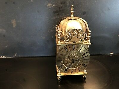 Lantern Clock With Mechanical Movement Large Sized
