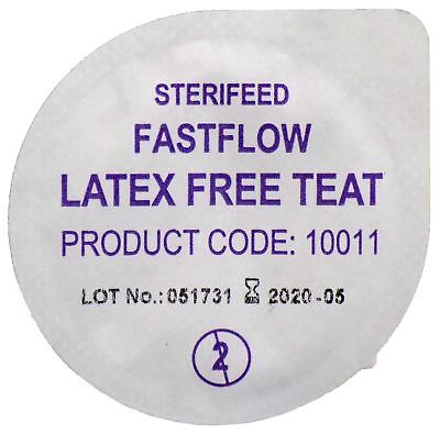 Sterifeed Latex Free Sterile Baby Teat, Fast Flow, Pack of 10