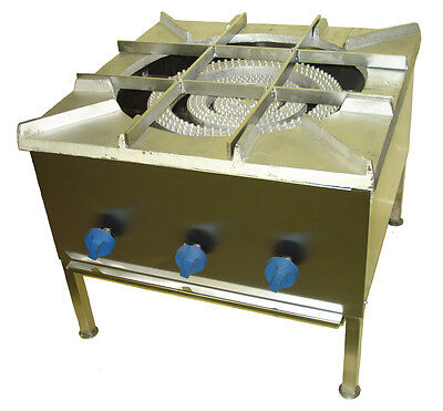 Cooker Stock pot stove 3 burner Gravy cooker