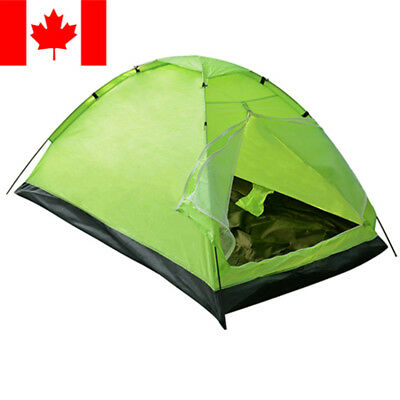 2-Person Camping Tent Family Outdoor Sleeping Dome Water Resistant W/ Carry Bag