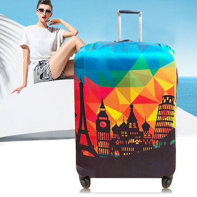 Elastic Luggage Suitcase Cover Dustproof Protector Case Protective Bag S / M / L