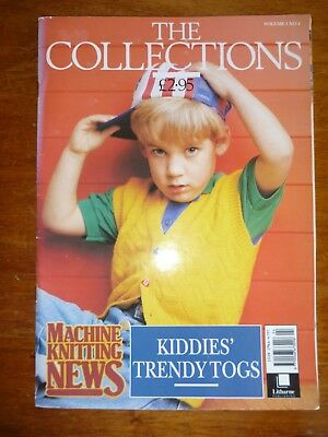 Machine Knitting News Pattern Book - The Collections Volume 1 No 4 - Childrens