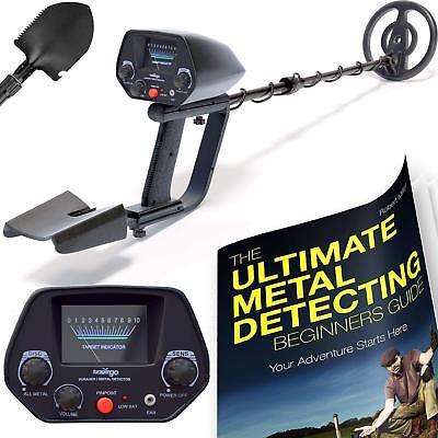 NHI Classic Metal Detector With Pinpointer - All Terrain Waterproof Search Coil