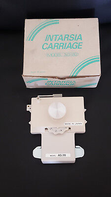 Knitmaster AG 20 Intarsia carriage for Silver reed knitting machine