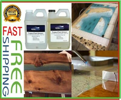 TOTALBOAT TABLE TOP Epoxy Resin 1/2 Gallon Kit | Crystal