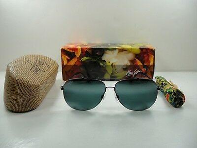 4e39ad39771f Maui Jim Cinder Cone Polarized 789-2M Sunglasses Black Frame/neutral Grey  Lens