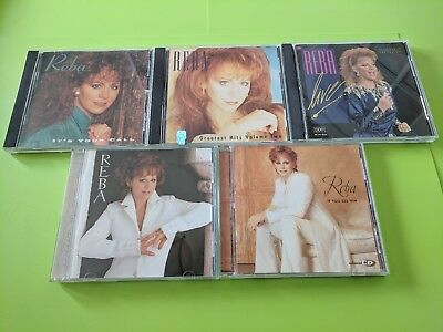 Lot of 5 Reba McEntire CD's: What If It's You, If You See Him, Live + 2 more