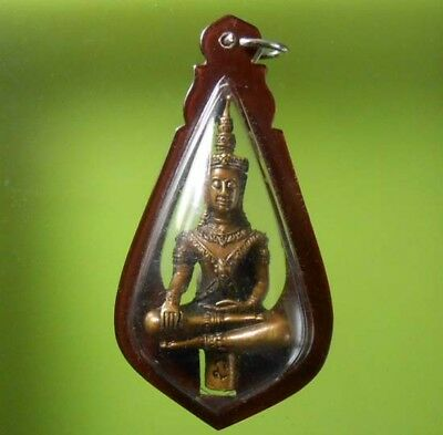 Beautiful Old Phrayodthong Lp Koon Thai Buddha Amulet Real Rare !!!