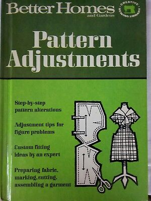 Better Homes And Gardens Pattern Adjustments ~  Sewing Book 1966
