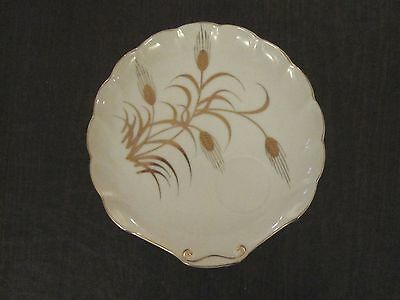 Lefton Gold Wheat Snack Plate