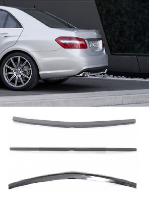 Mercedes E Class W212 09+ Amg Look Rear Boot Trunk Lid Spoiler Lip Wing Abs Top!