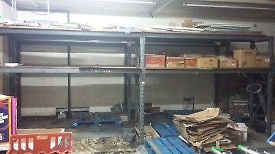 Pallet Racking Storage With Bays And Chipboards