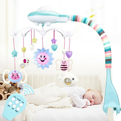 Musical Mobile Cot Crib Bed Carousel Lullaby Great Gift Boys Girls Unisex