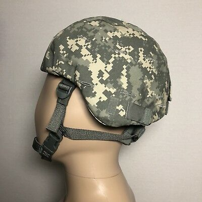Advanced Combat Helmet ACH Standard Army Camo Sz Small With H Harness NWT