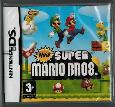 New Super Mario Bros For Ds Game Brand New Sealed Uk Stock 1St Class Service