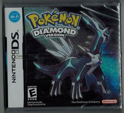 Uk Stock* Pokemon Diamond For Nintendo Ds Game *brang New Sealed *1St Class