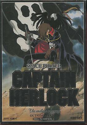 Capitan Harlock  The endless odyssey SIGILLATO DELUXE  LIMITED  EDITION 5 DVD