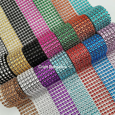 BLING RIBBON SPARKLY Sugarcraft Cake decorating Card craft mesh silver colours