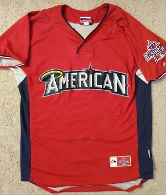 1a97cd89 2010 MLB All Star Game American League Majestic Authentic Jersey Size Medium