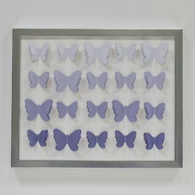 Lambs & Ivy Signature French Lavender Wall Decor  -  Purple, Modern, Butterfly,