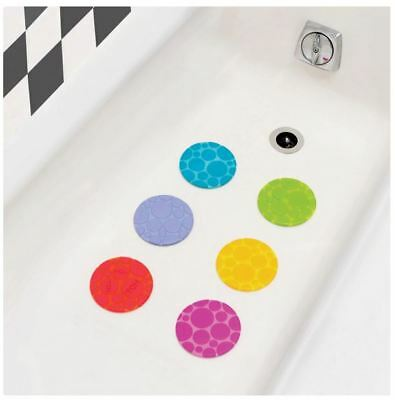 Munchkin Non-Slip Grippy Dots Bath Mat WARNING TOO HOT Detection Technology