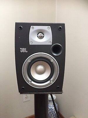 JBL N24 Northridge Series Bookshelf Speakers Pair Dark Gray