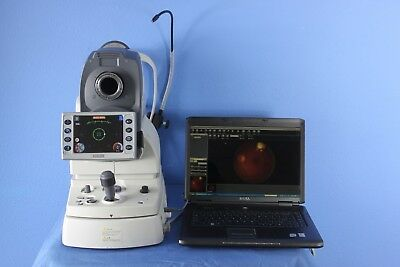 Nidek AFC-230 Auto Fundus Camera with Navis Lite Software and Laptop