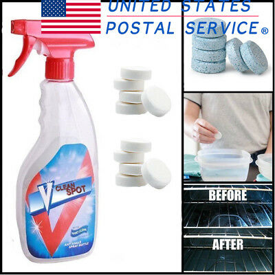 Multifunctional Effervescent Spray Cleaner USPS New 2018
