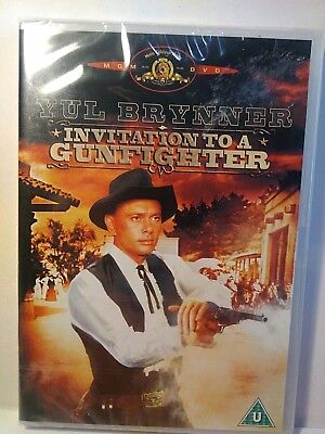 Invitation to a gunfighter yul brynner seven original american invitation to a gunfighter yul bryner george segal uk dvd new stopboris Image collections