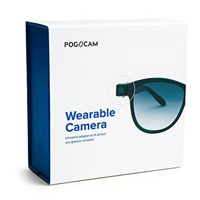 PoGoCam Tiny Removable Camera Photo & HD Video for your Glasses by PogoTec *NEW*